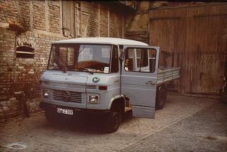 Das erste Firmenfahrzeug