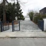 Privatgarten Garbenteich - Neue Toranlage